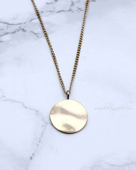 Kette Coin Reflection Gold o. Silber