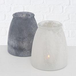 Windlicht und Vase Natural Satin