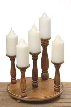 Kerzenleuchter CHALET 5er