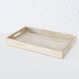 Tablett Natural rechteckig