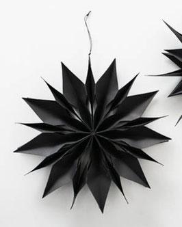 Hängestern 2D Papier schwarz