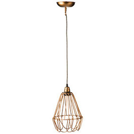 Madam Stoltz Wire Lampe gold