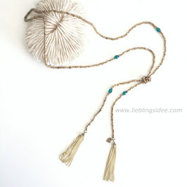 Kette VARIATION GOLD TASSEL