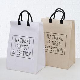 Grosse Tasche Natural