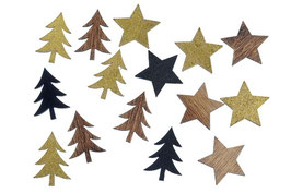 Baum oder Sterne Streu