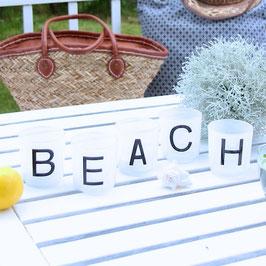 Windlicht-Set Beach