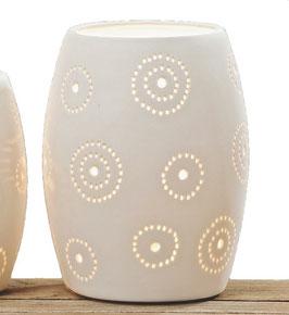 Keramik-Lampe WHITE