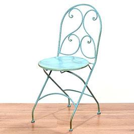 Stuhl Shabby Turquoise