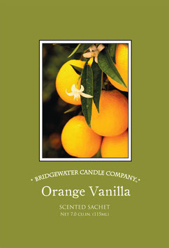 Bridgewater Sachet Orange Vanilla