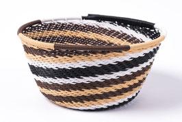 Paniers en fil de téléphone - Mini - Noir Blanc Marron Jaune