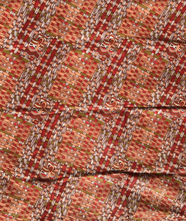 # 43 - Tissu WAX pagne africain 182X118CM -  100% Coton- African Print