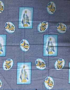 # 39 - Tissu WAX pagne africain 182X118CM -  100% Coton- African Print - Pagne de Noël