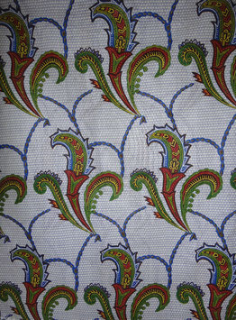 # 18-Tissu WAX pagne africain 182X118CM -  100% Coton- African Print