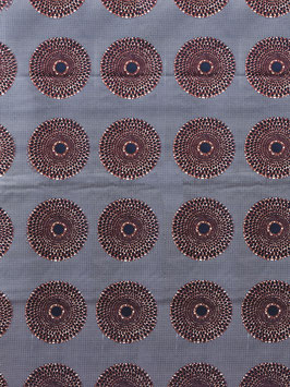 # 53 - Tissu WAX pagne africain 182X118CM -  100% Coton- African Print