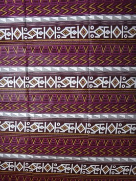 # 14 -Tissu WAX pagne africain 182X118CM -  100% Coton- African Print