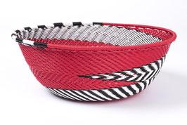 Paniers en fil de téléphone - Small - Rouge noir blanc