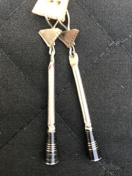 Boucles d'oreilles touareg pilon