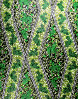 # 24 -Tissu WAX pagne africain 548X118CM -  100% Coton- African Print