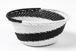 Paniers en fil de téléphone - Mini - Noir blanc