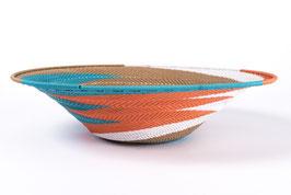 Paniers en fil de téléphone - Large - Turquoise