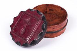 Boite à bijoux  touareg - Rouge