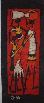 Panneau art batik Sud Africain - Small