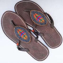 Sandales tong masaï kimorana ethniques