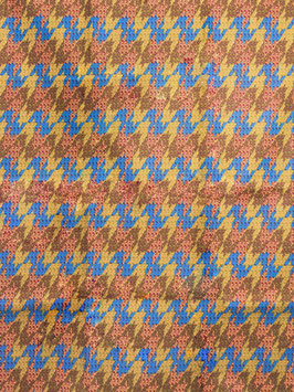 # 52 - Tissu WAX pagne africain 182X118CM -  100% Coton- African Print