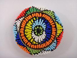 Dessous de verre africain en perle de verres