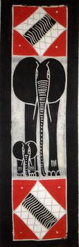Panneau art batik Sud Africain