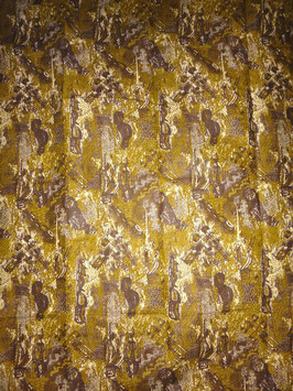# 5 - Tissu WAX pagne africain 182X118CM -  100% Coton- African Print