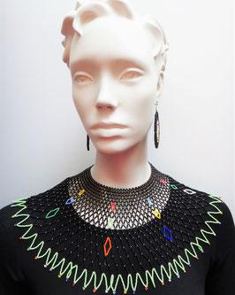 Parure de femme en perles - Zoulou  - Fine