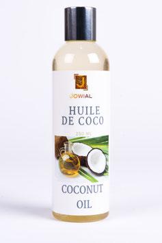 Huile de coco 100% naturel - 250 ML