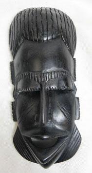 Masque mural en ébène