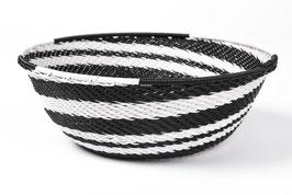 Paniers en fil de téléphone - Small - Noir blanc