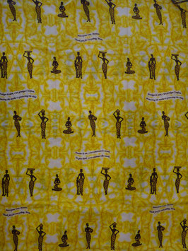 # 28 - Tissu WAX pagne africain 182X118CM -  100% Coton- African Print