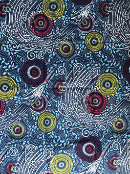 # 41 - Tissu WAX pagne africain 182X118CM -  100% Coton- African Print