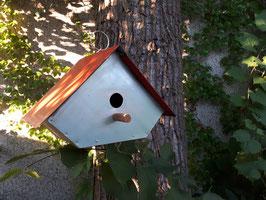Cabane à oiseaux upcycling
