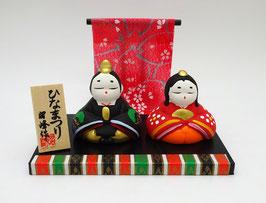 Composition couple impérial Hina Matsuri