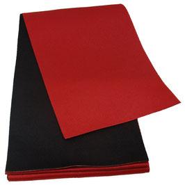 Obi Réversible Rouge Et Noir