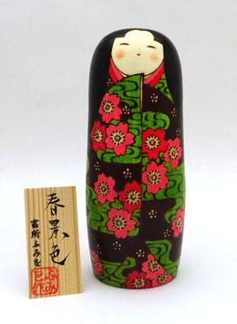 """Kokeshi """"Paysages de printemps"""" (Haru no keshiki)"""