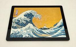 """Tapis de souris pour ordinateur """"La Grand Vague de Kanagawa"""""""