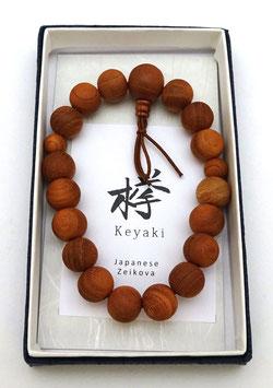Bracelet Nenju, Orme du Japon (Keyaki)