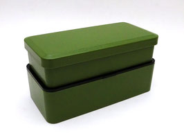 Boîte à bento vert uni