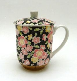 Mug Sakura et son couvercle