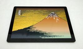 """Tapis de souris pour ordinateur """"Le Mont Fuji rouge"""""""