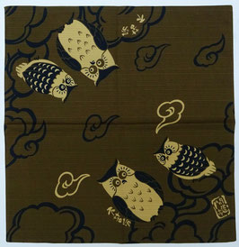 Furoshiki Chouettes et Nuages