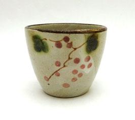 """Tasse à thé motifs """"raisin"""" et """"feuilles de vigne"""""""