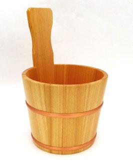 Rafraichisseur à saké en bois de Hinoki