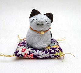 Maneki Neko chirimen (tâcheté)